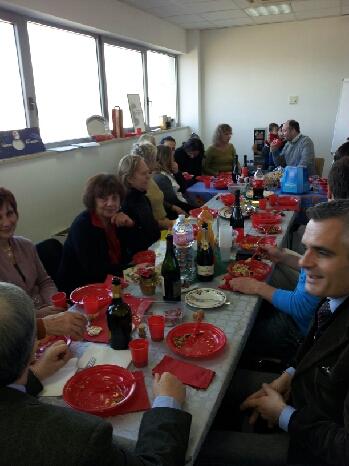 Un incontro presso il Consolato con una parte della comunit� Russa