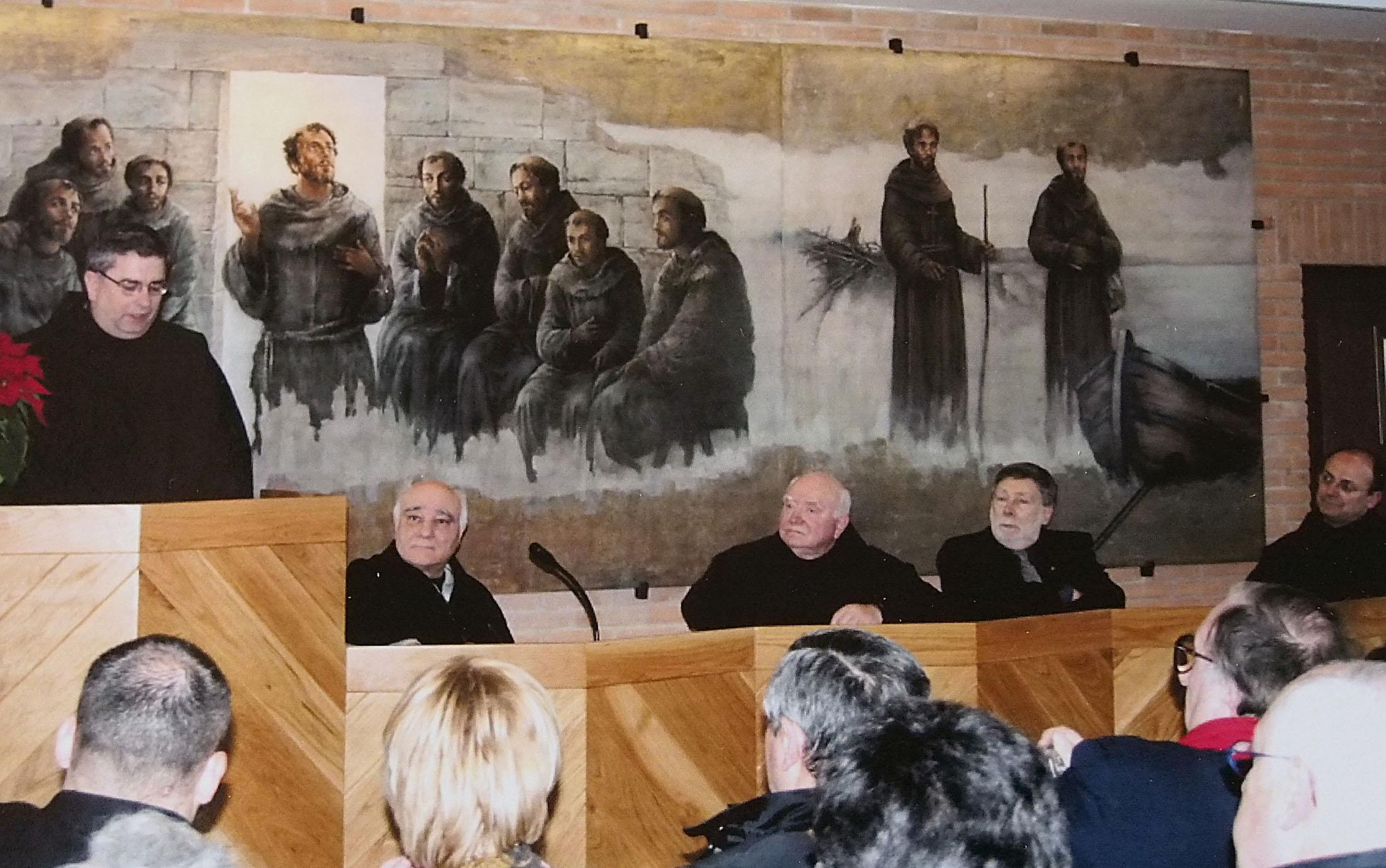 IL CONSOLE DI ANCONA IN UNA FOTO DEL 2005 CON MONS. PADRE JOSE' RODRIGUEZ CARBALLO PRIMA NOMINA CURIALE DI PAPA FRANCESCO.