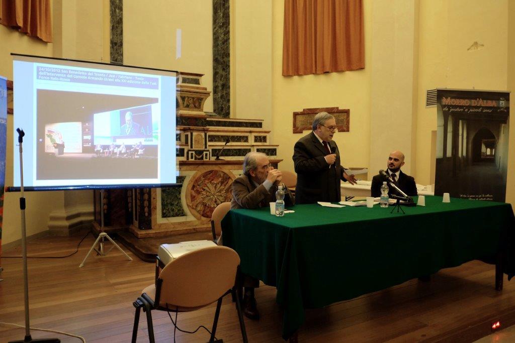 INCONTRO CON IL CONSOLE RUSSO ORGANIZZATO DALL'ARCHEOCLUB D'ITALIA
