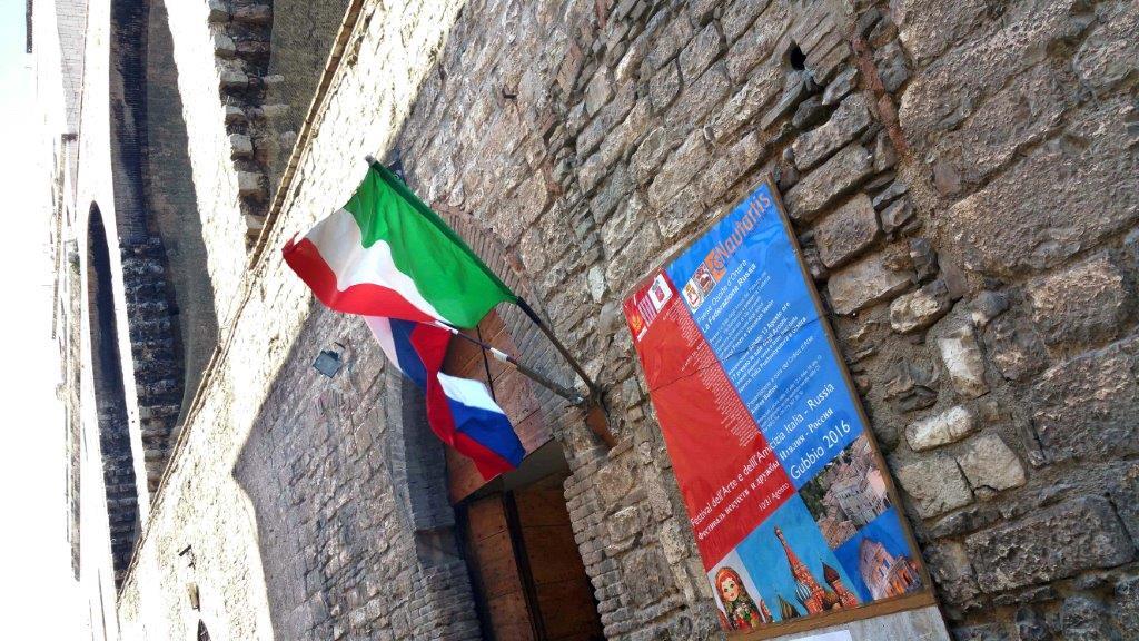 MANIFESTAZIONE DI AMICIZIA ITALO RUSSA IN NOME DELL'ARTE PITTORICA E PLASTICA NONCHE' DELLA MUSICA.