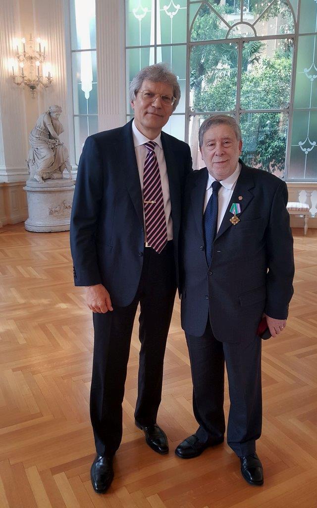 LUSINGHIERI RICONOSCIMENTI AL CONSOLE EMERITO DA PARTE DELLE AUTORITA\' RUSSE