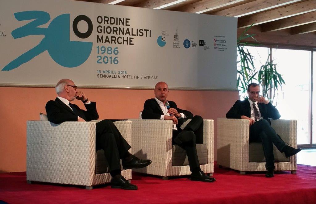 PRESENZA DEL CONSOLATO DI ANCONA AL 30.mo DELLA COSTITUZIONE DELL'ORDINE GIORNALISTI DELLE MARCHE