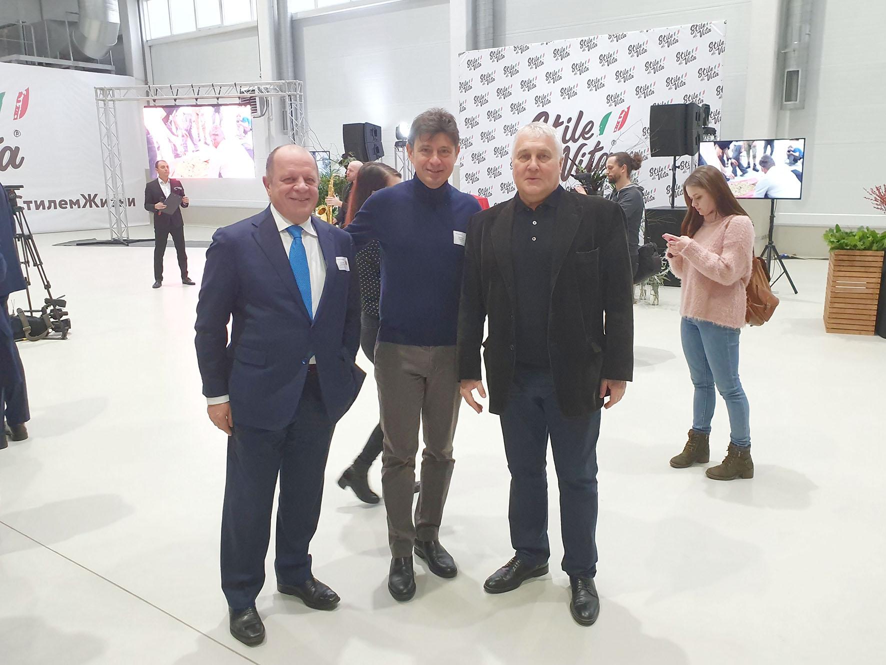 Associazione Amici dell'Italia e della Russia presente a Lipetsk  in occasione del XIV Forum Investimenti