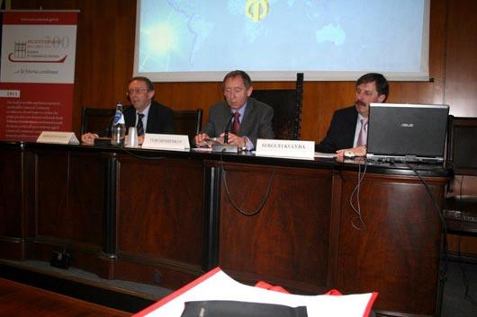Importante incontro al Parlamentino della Camera di Commercio di Ancona tra i vertici della Camera di Commercio e Industria di Mosca e quelli di Ancona