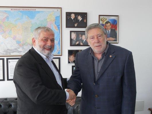 Incontro con Presidente della Comunità Islamica delle Marche Dachan Mohamed Nour