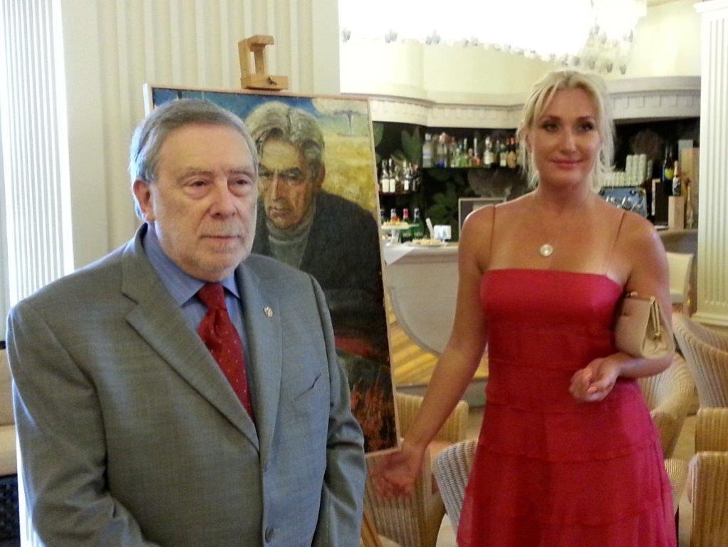 OMAGGIO DI MILANO MARITTIMA ALL'ARTISTA RUSSO FEDOR K. SUSKOV