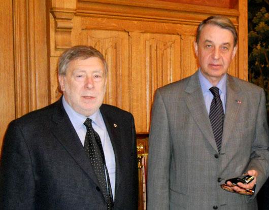 Armando Ginesi a Mosca incontra il Ministro della cultura