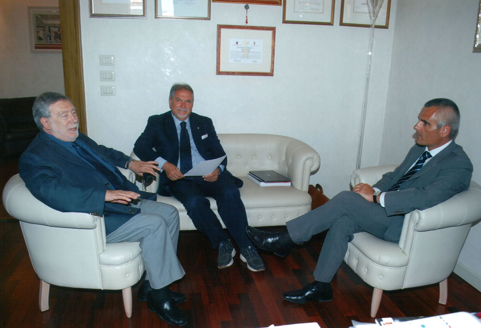 Il Console in visita al Questore di Pesaro-Urbino