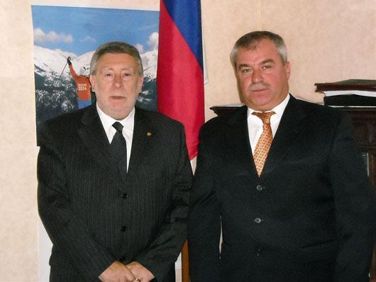 Ringraziamenti al Consolato Russo di Ancona per l'esito elettorale della Duma