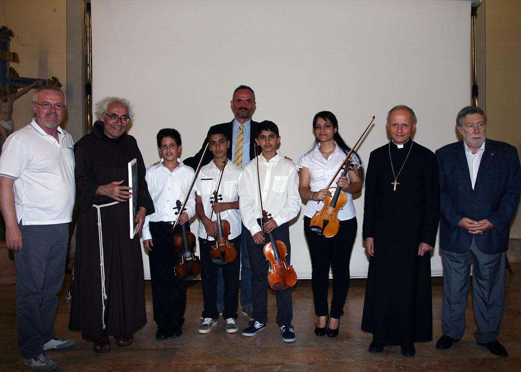 La presenza del Console di Russia al concerto d'organo di Padre Armando Pierucci