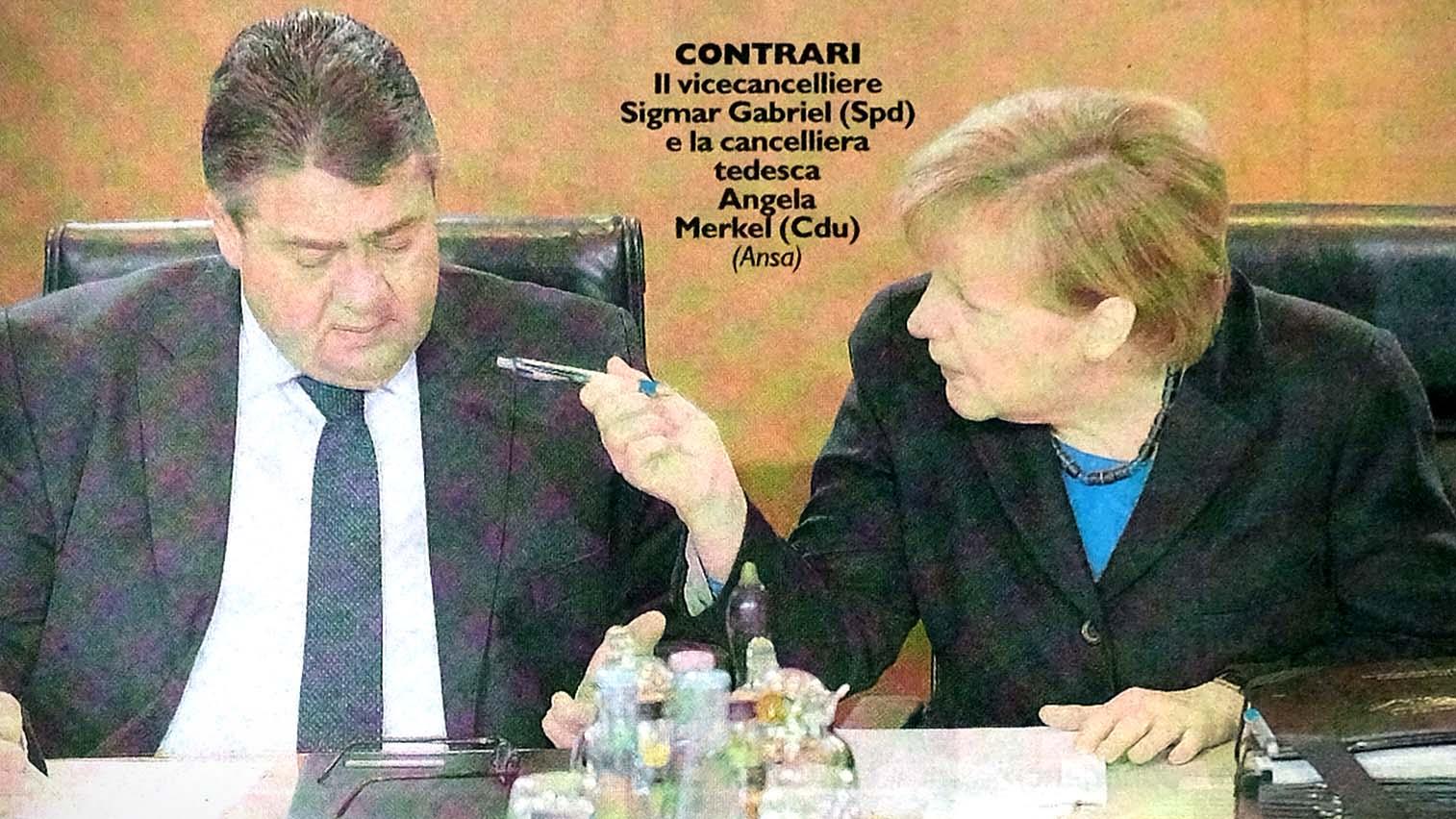 FINALMENTE LA STAMPA ITALIANA SCOPRE LA NATURA DELLE SANZIONI CONTRO LA RUSSIA?