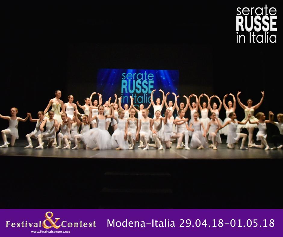 CONCLUSA A MODENA LA QUARTA EDIZIONE DI SERATE RUSSE IN ITALIA