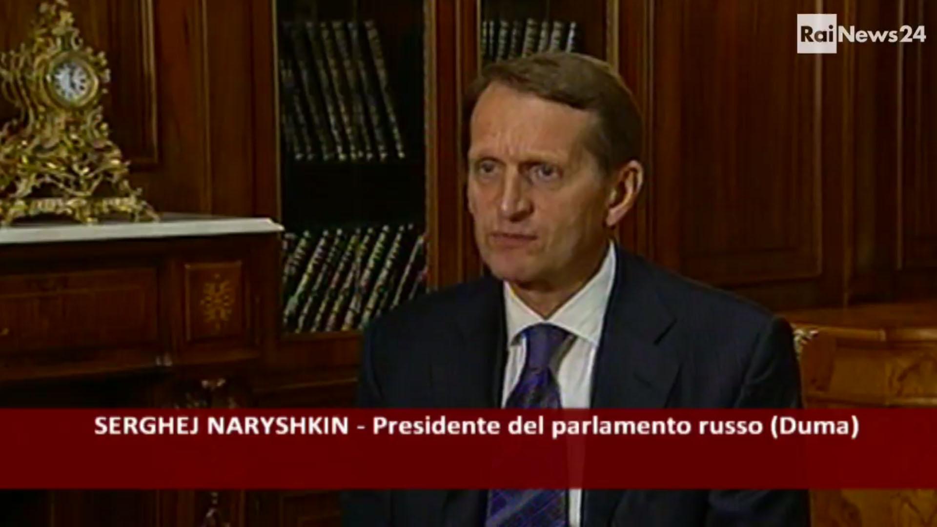 Naryshkin attacca l'Ue: le sanzioni alla Russia? Un comportamento criminale