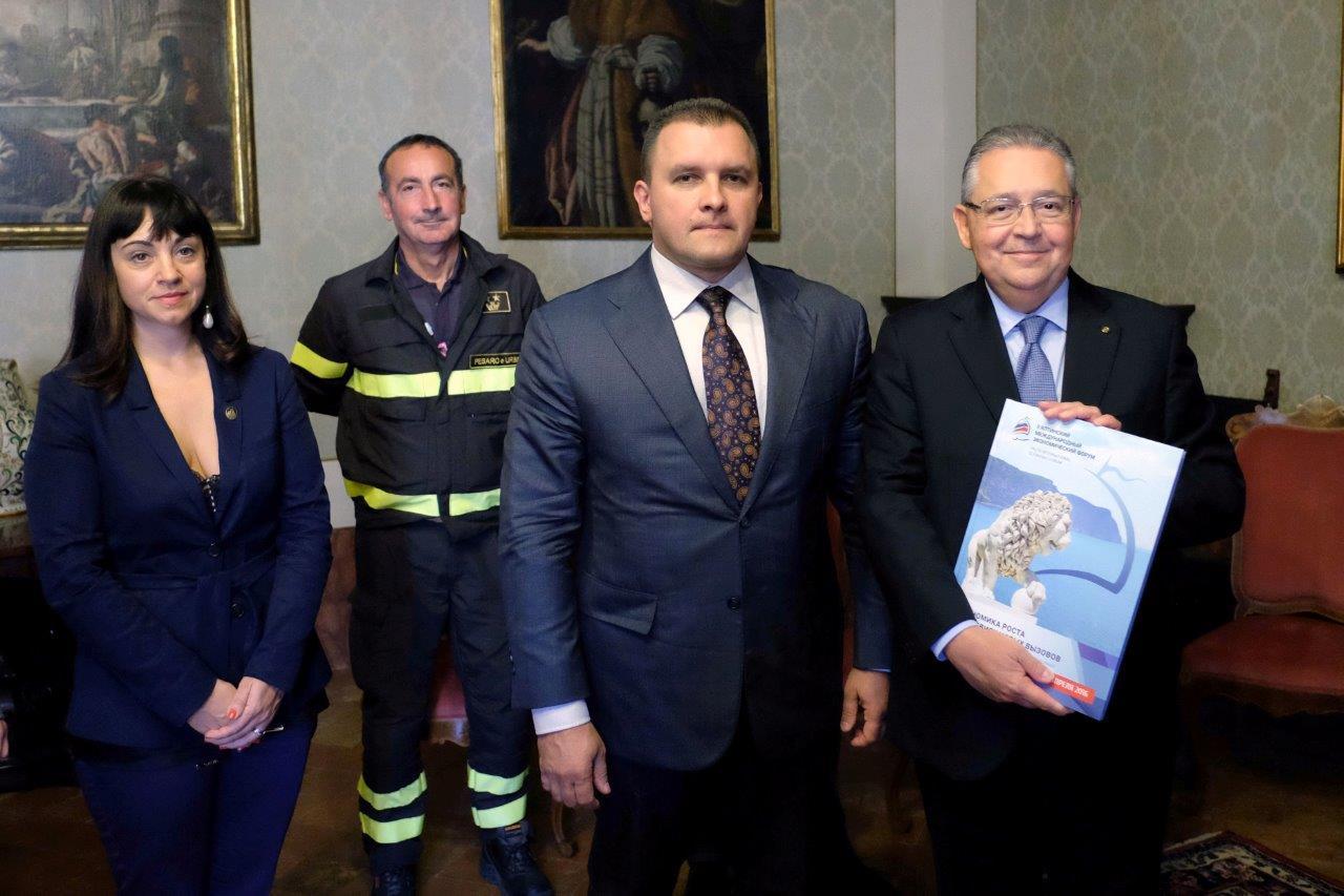 La rivista CRIMEA D'AFFARI parla della visita nelle Marche del Presidente della Fondazione Business Forum di Yalta