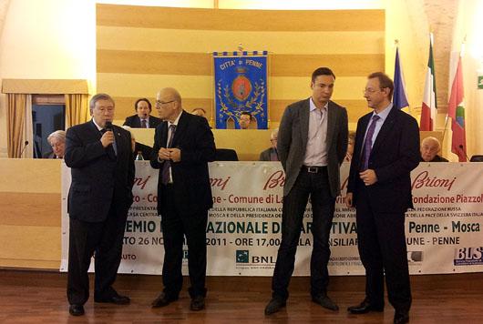 Al Premio letterario Penne - Mosca
