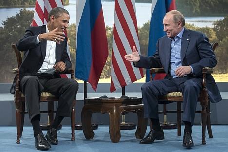 Al G8 la stretta di mano tra Putin e Obama