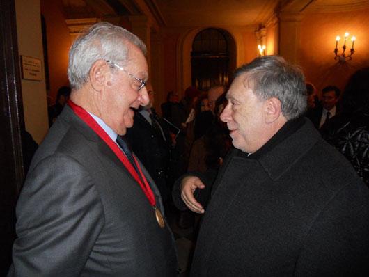 Armando Ginesi membro d'onore dell'Accademia Imperiale Russa