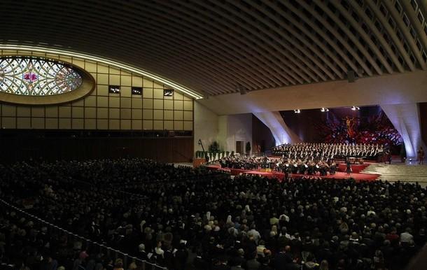 Armando Ginesi invitato al Concerto Vaticano con Benedetto XVI e Giorgio Napolitano