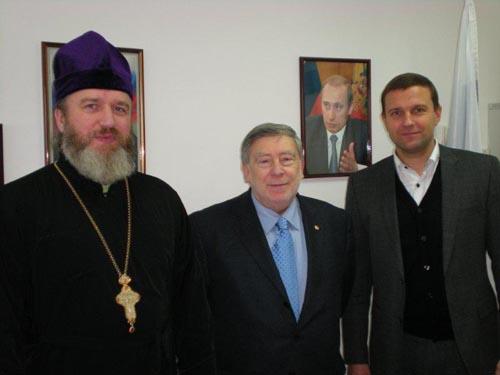 Visita al Consolato di Padre Sofonov del Patriarcato di Mosca