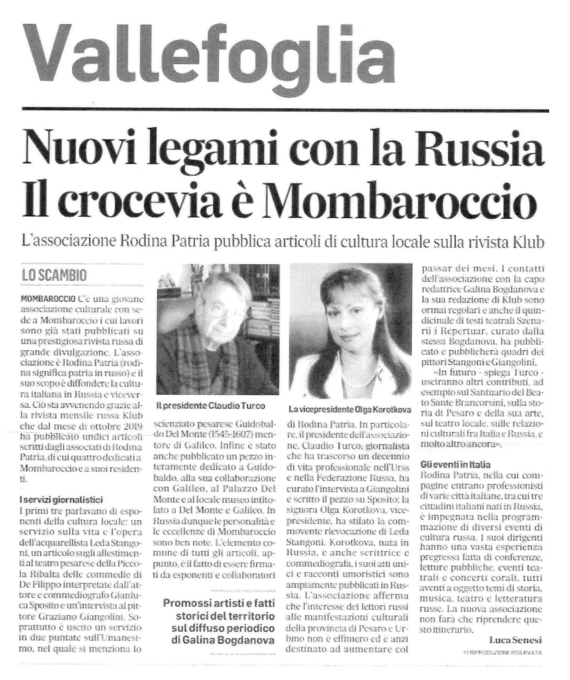 CONTINUANO A CRESCERE INIZIATIVE SPONTANEE CHE LEGANO LE MARCHE ALLA RUSSIA.