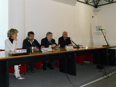 Movimento di imprenditori e di istituzioni del centro Italia attorno al Consolato russo di Ancona
