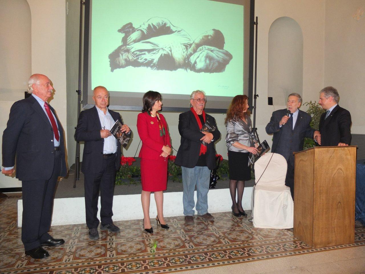 Il Console di Ancona presenzia a San Marino alla mostra di Ivo Batocco sull'emigrazione