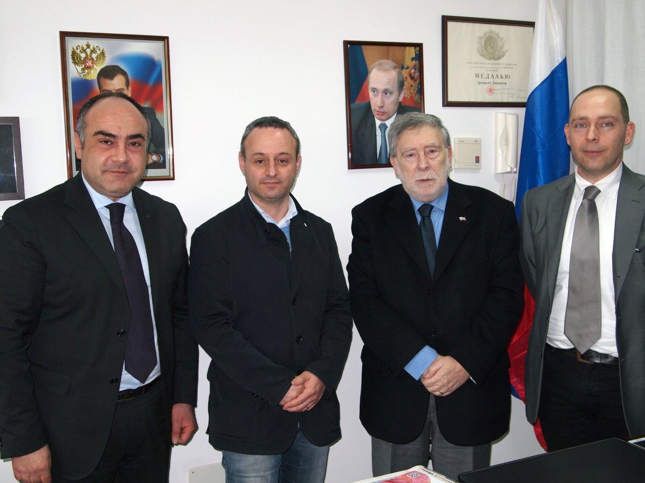 Importante adesione all'Associazione Amici dell'Italia e della Russia del Collegio Costruttori della Provincia di Ancona (ANCE)