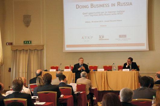 Il Consolato Russo di Ancona al Doing Business in Russia di Milano