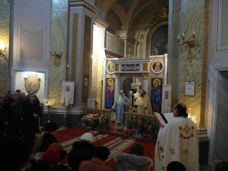 Liturgia ortodossa per Sant'Antonio