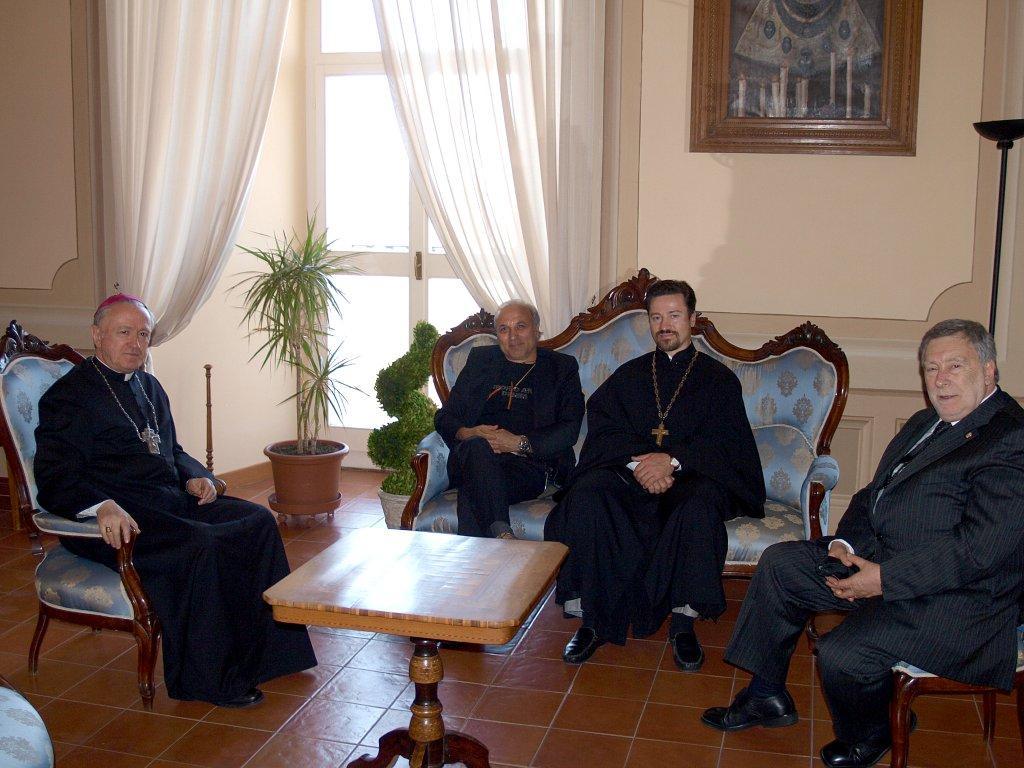 Visita a Loreto del rappresentante del Patriarcato di Mosca